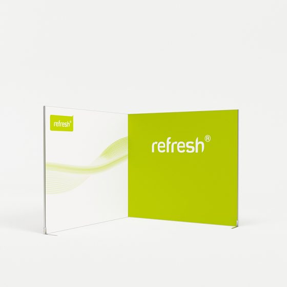 Eckstand 9 m², refresh Kit [020]