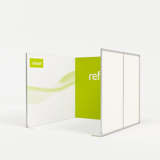 Reihenstand 9 m², refresh Kit [021]
