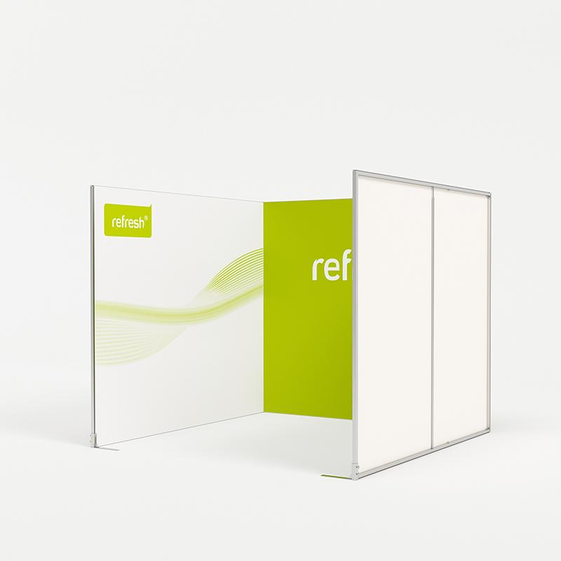 Reihenstand 9 m², refresh Kit [021]