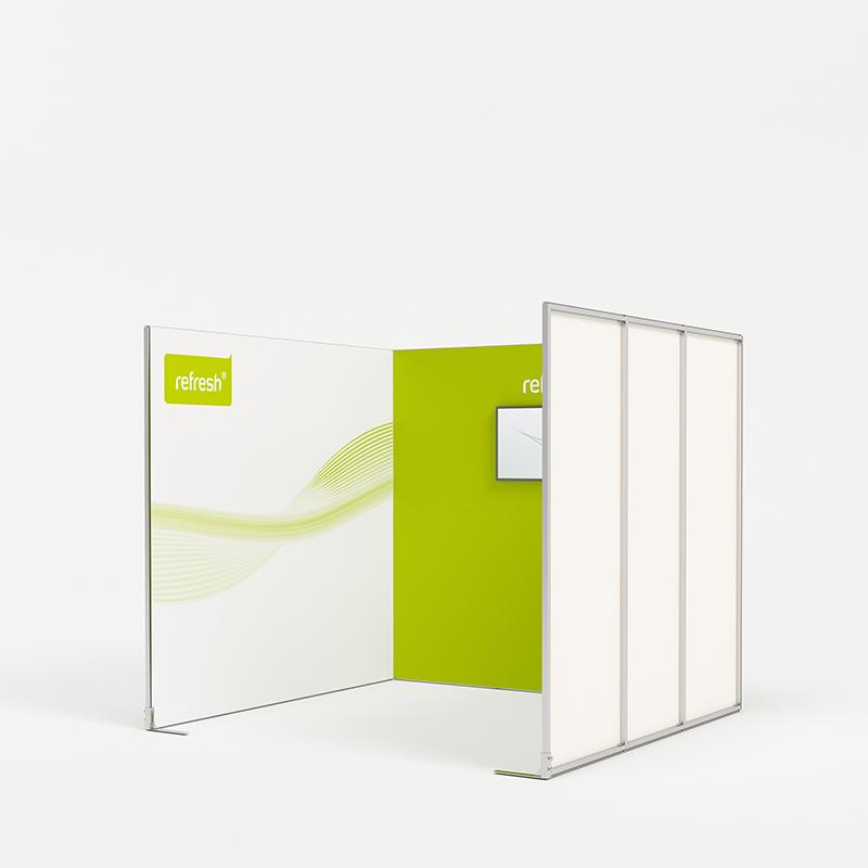 Reihenstand 9 m², refresh Kit [024]