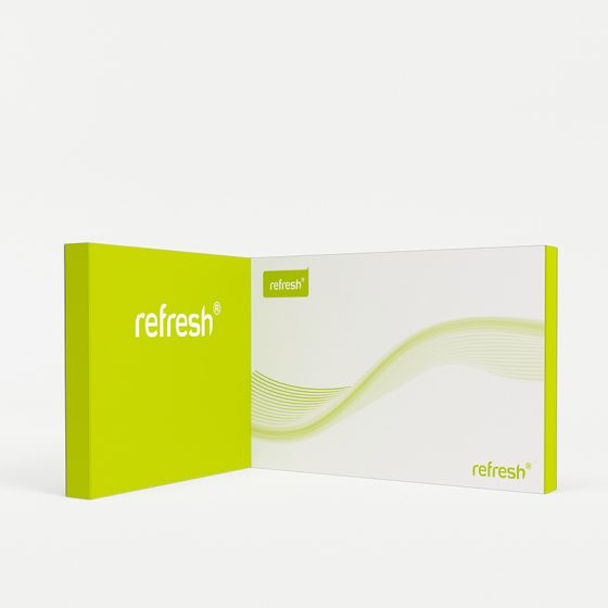Eckstand 12 m², refresh Kit [026]