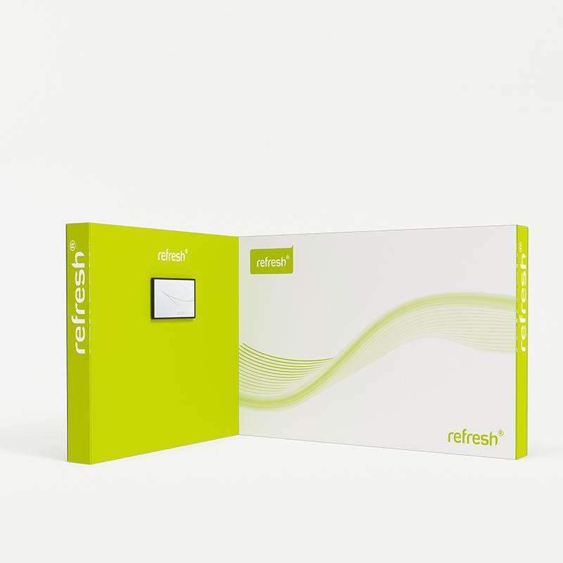 Eckstand 12 m², refresh Kit [028]
