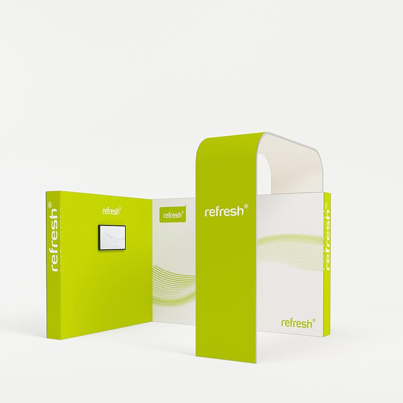 Eckstand 12 m², refresh Kit [029]