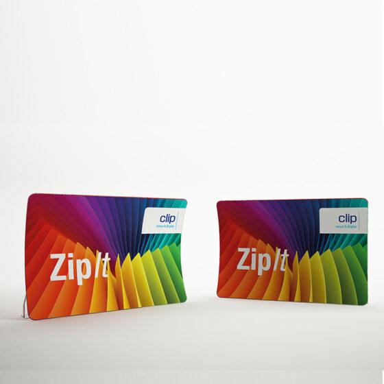 ZipIt Displaywand gewölbt