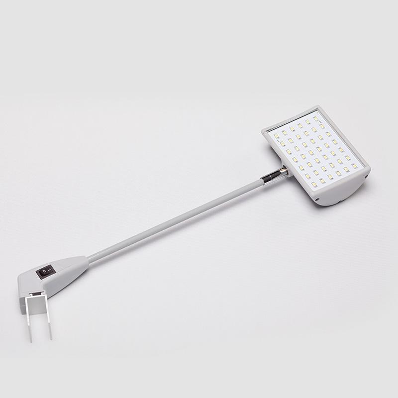 led20 w grau lampe leuchte led strahler