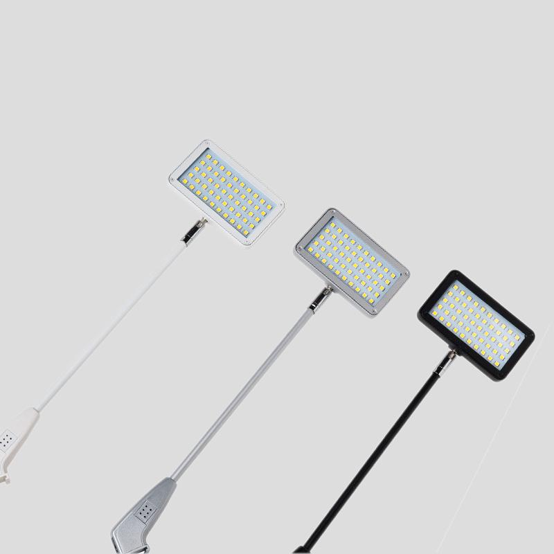 wled50 schwarz weiß silber lampe leuchte led strahler