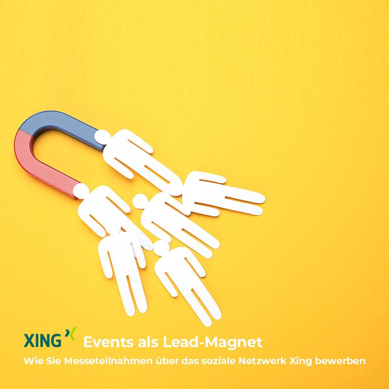 Messenteilnahmen als Lead-Magnet nutzen