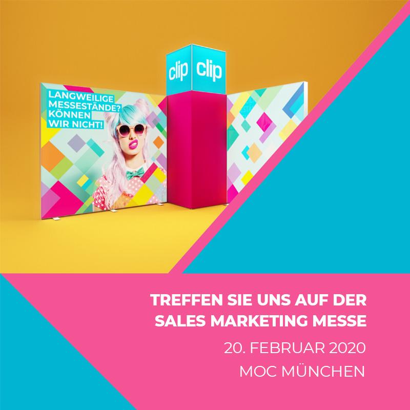 Treffen Sie uns am 20.02.2020 auf der Sales Marketing Messe in München