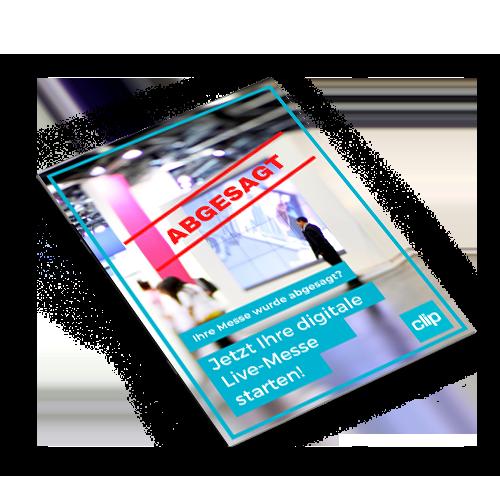 factsheet digitaler messestand von clip