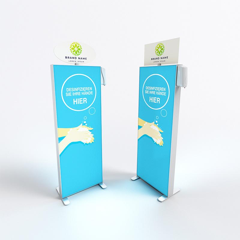 Mobiler Desinfektionsmittelspender mit Sensor - Varianten
