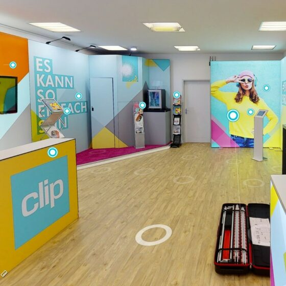 Clip VReal Rooms - Virtuelle Showrooms