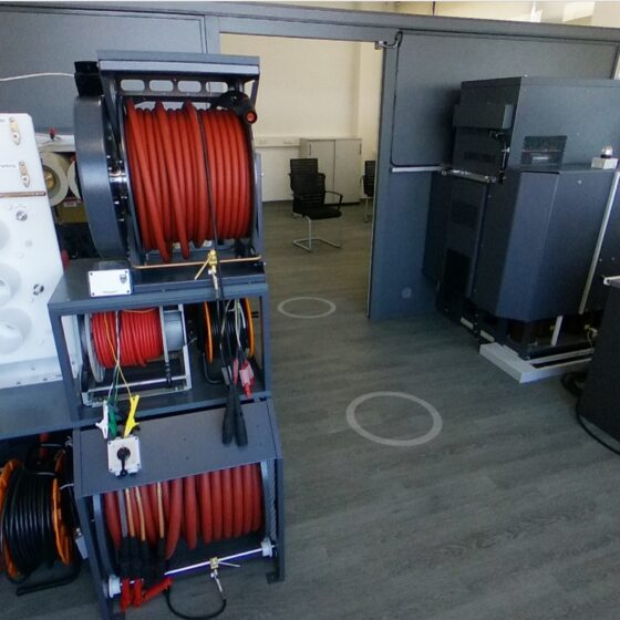 Megger Cable Room