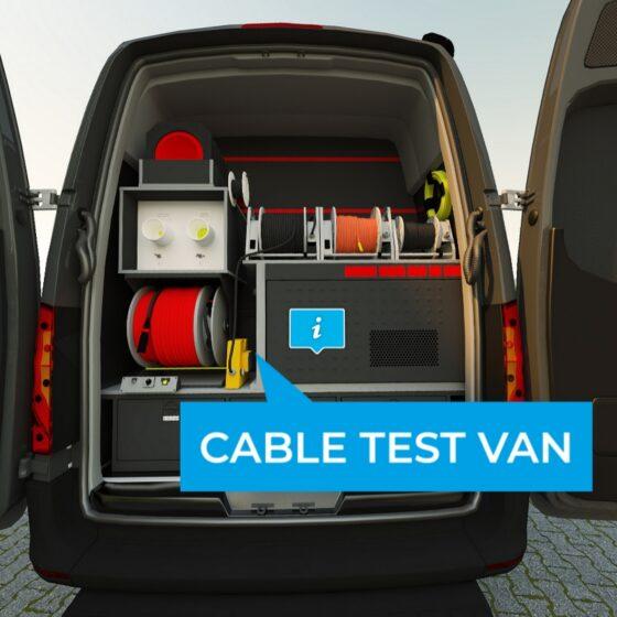 Megger Cable Test-Van