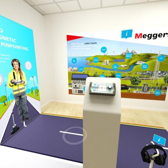 Megger Virtueller Showroom