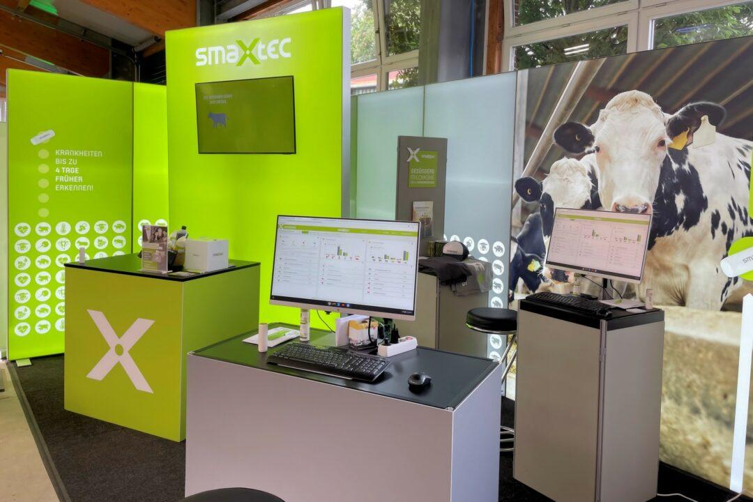 Mobiles Messesystem für smaXtec GmbH: Endlich trifft man sich wieder auf der LandTageNord 2021